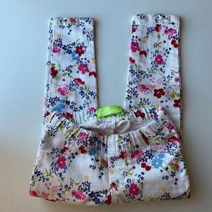Girls Floral Pants Size 3T